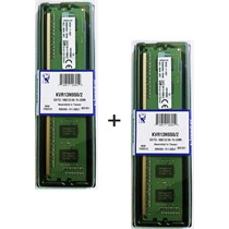 Kit 2x Memória Kingston Ddr3 2gb 1333mhz Dual Pc3-10600 - 4g