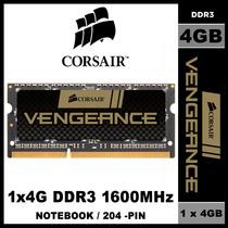 Memória Corsair Vengeance 4gb Ddr3 1600 Notebook Frete Grati