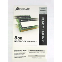 Memoria Notebook Ddr3 1.066mhz 8gb Corsair Mac -kit 2x4