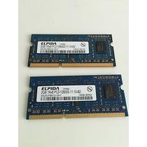Kit Memória Elpida 2gb Ddr3 Pc3-12800s Apple Mac
