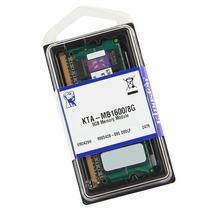 Memória Notebook Kingston Ddr3 8gb 1600mhz Kta-mb1600/8g Mac