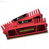 Memória Corsair Vengance 8gb (2x4gb) 1600mhz Dd3 - Vermelha