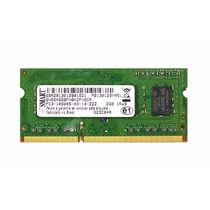 Memoria Sodimm Kit 4gb (2x2gb) Ddr3 Pc3 10600s 1333mhz Smart