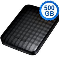 Hd Externo Samsung 500gb M3 Portable 3.0 Preto Novo