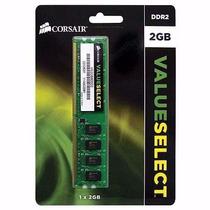 Memória Ddr2 800mhz 4gb Corsair Value Select Kit 2x2