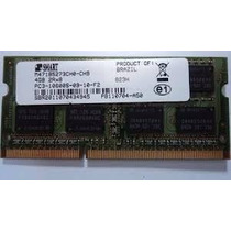 Memoria Ddr3 4gb 1333 Smart Notebook Sodimm Segunda Geracao