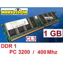 Markvision 1gb Ddr1 Memôria Ram Pc3200 400mhz