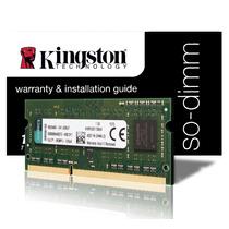 Memoria Kingston Notebook Ddr3 4gb 1333mhz - Frete Gratis