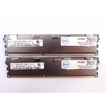 Memoria Dell 16gb Kit 2x8gb Pc3-8500r-7-10-e1 Ecc Buffered