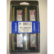 Memória Ecc 4gb (2x2gb) Ddr2 Kingston Kth-xw667lp 4g