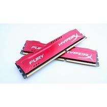 Memória Ram Ddr3 8gb 1600ghz Kingston Hyperx Fury (2 X 4gb)
