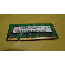 Memória Para Notebook Ddr-2 1gb 667 Mhz Pc2 5300s 555 12 Mr5