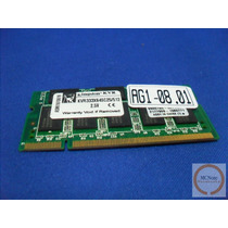 Ag08.01 Memória Kingston Kvr333x64sc25/512 Mb Ddr 333mhz Not