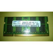 Memória Notebook Samsung 2gb Ddr2 2rx8 Pc2-6400s-666-12-e3