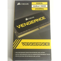 Kit 16gb Mem 2133 2x8gb Corsair Vengeance P/ Notebook Ou Mac