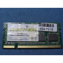 Memoria Notebook Markvision Ddr2 800mhz 2gb *frete Gratis*