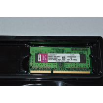 Memória Ddr3 2gb 1333mhz Kingston P/ Notebook Kvr1333d3s9/2g
