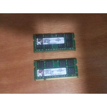 Memoria Kingston Ddr2 667 1 Gb Notebook Perfeitas