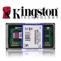 2 Pentes Memoria Ddr2 2x 2gb - 4gb 667mhz Kingston