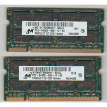 Memoria Note 2gb Ddr2 Pc2 6400s Micron Positivo Sim+ 1079