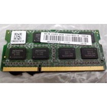 Memória Notebook Adata Smart 2gb Ddr3 1333mhz Nova
