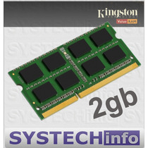 Memória 2gb Ddr3 1333 Mhz Kingston Para Notebooks Sodimm