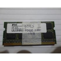Memória Smart Ddr3 Notebook 1066 Mhz 2gb