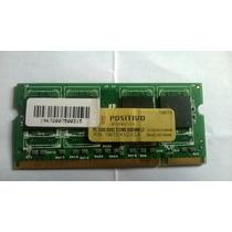 Memoria Ram Para Notebook Ddr2 512mb Pisitivo Pc 5300