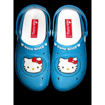 Clog Infantil Hello Kitty Tam 28_excelente Estado!!! Crocs