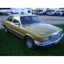 Mercedes 280 S Dourada 1974 Teto Solar 4 Portas Conservada