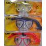 Kit Mascara E Snorkel Infantil Ks Cetus Mod 4208