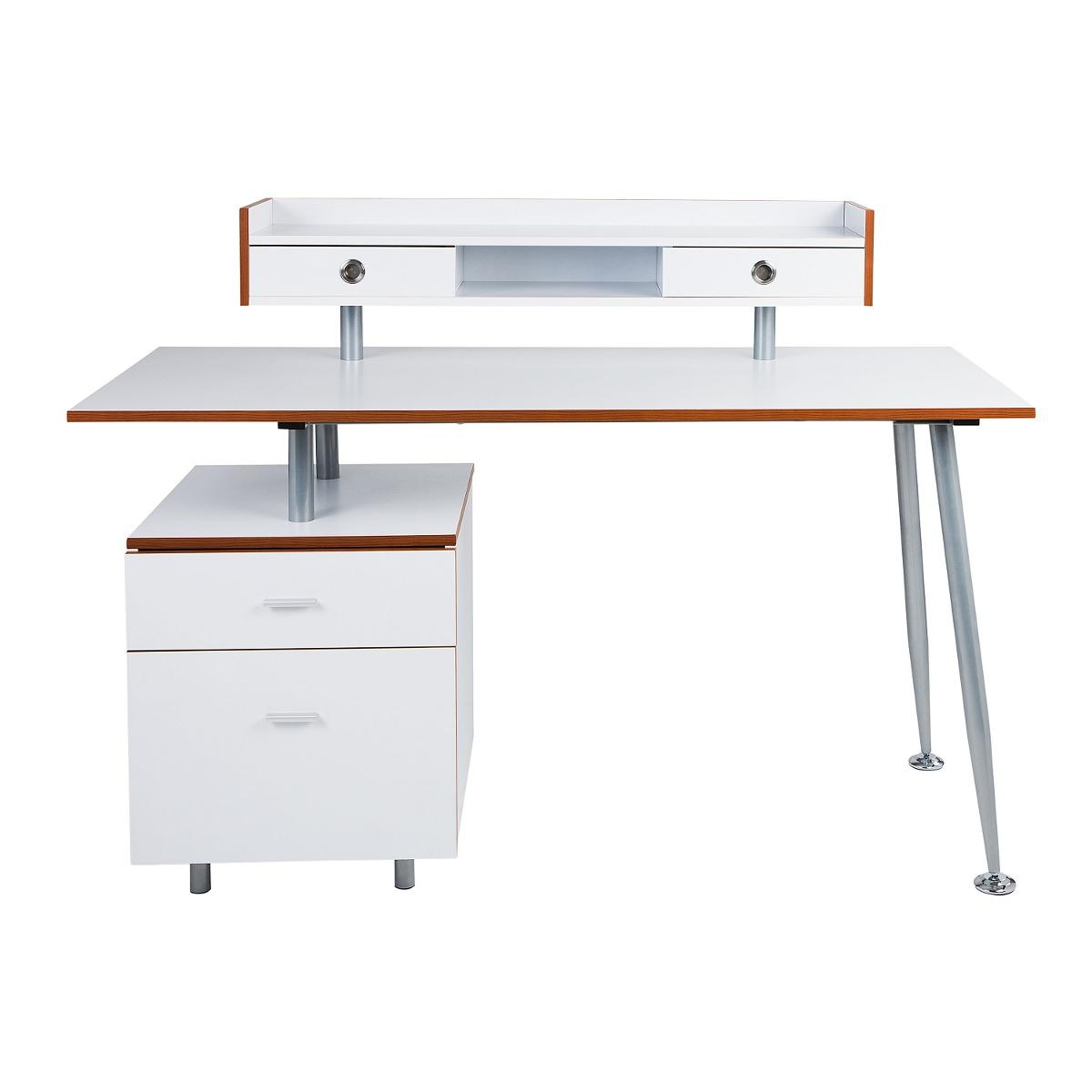 Mesa Bancada Escritório Para Home Office Escrivaninha R$ 1.100 00  #833C17 1200x1200