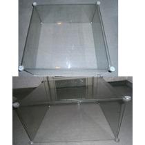 Mesa De Centro De Vidro