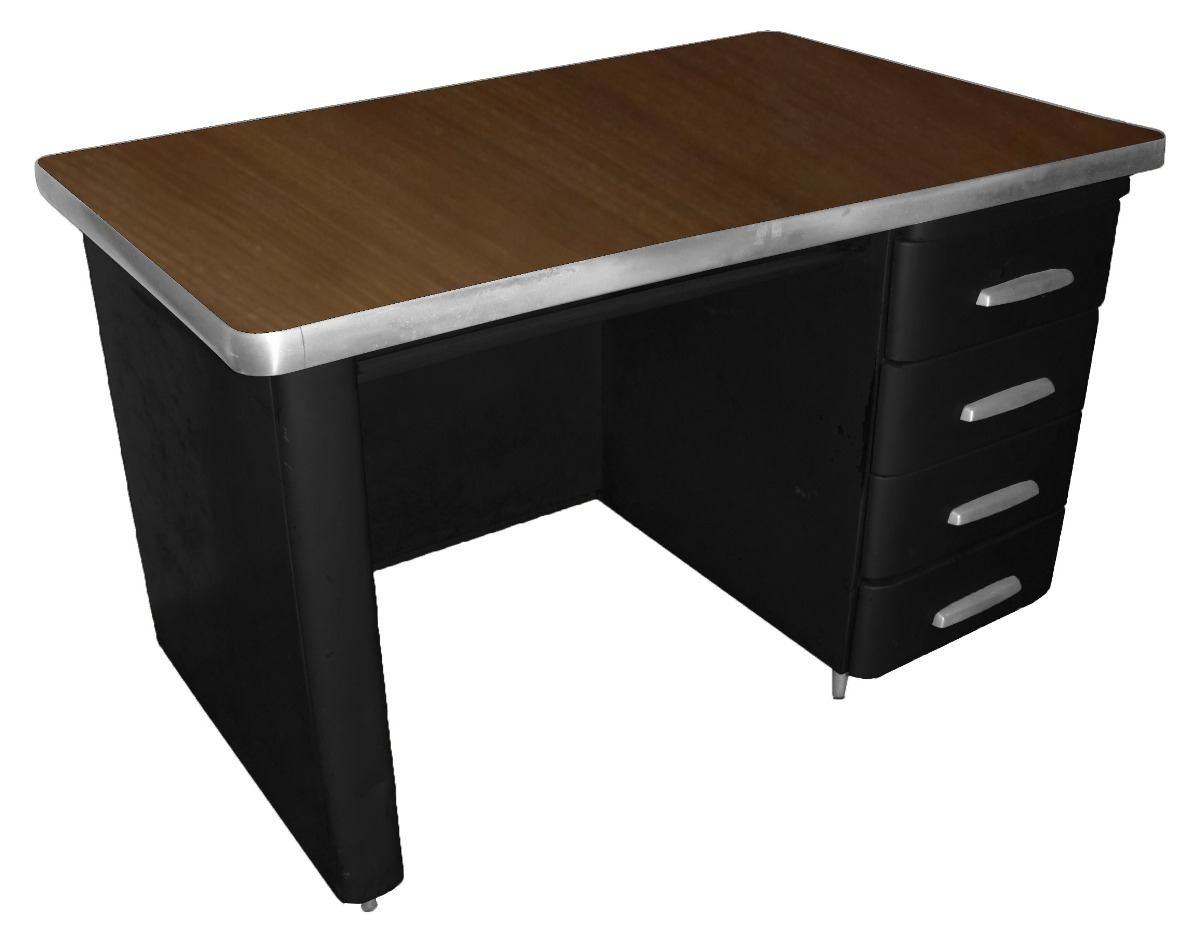 Mesa de escrit rio em a o 39 50s r em mercado - Mesa escritorio l ...