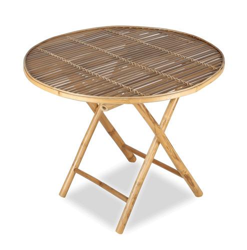 mesa jardim dobravel:Mesa De Jardim Dobrável Em Bamboo – R$ 343,03 no MercadoLivre