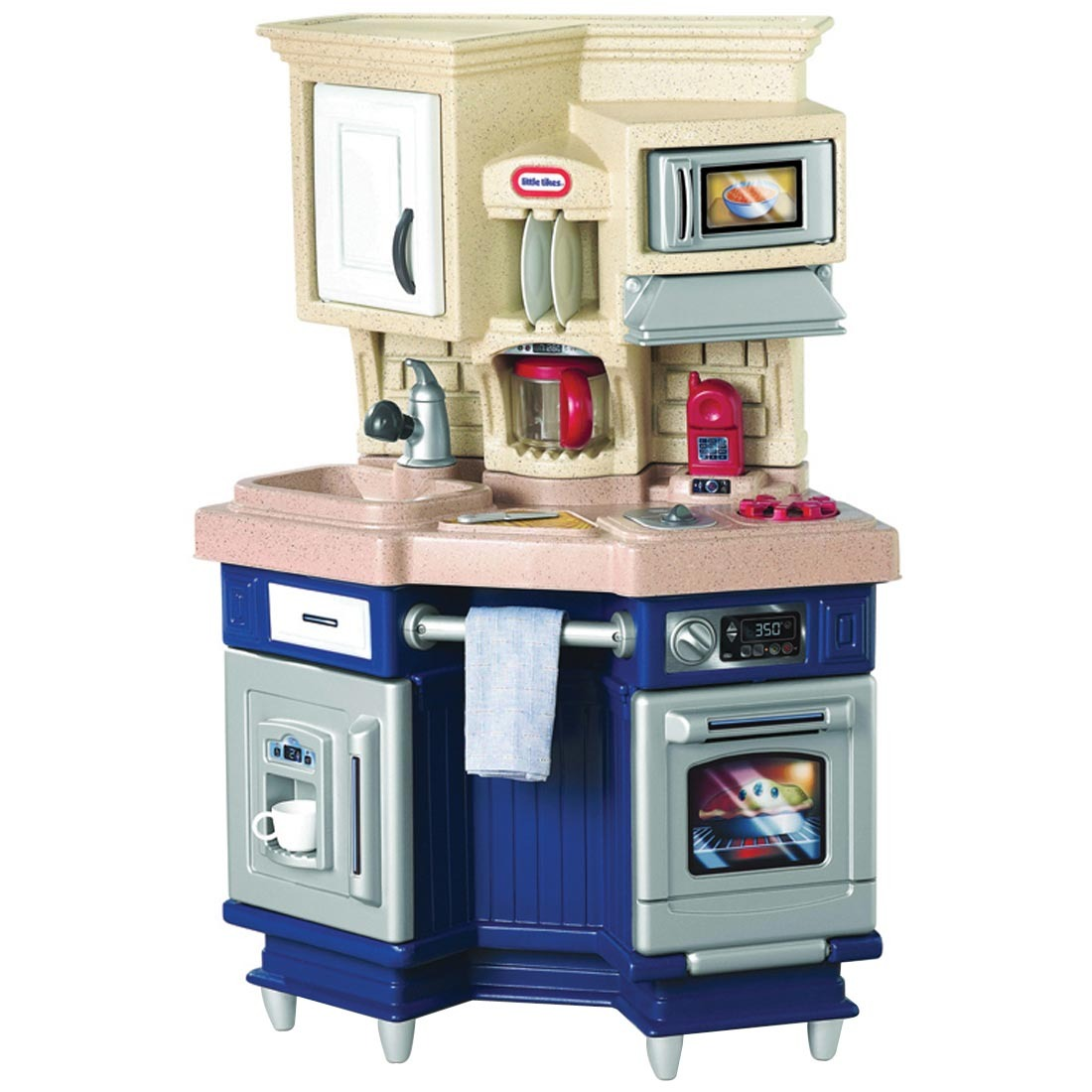 #243874 Mesa De Recreio Com Cozinha Super Chef Little Tikes R$ 999 00 no  1100x1100 px Armario De Cozinha Compacta Ricardo Eletro #1987 imagens