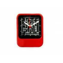 Relógio Labirinto Vermelho. Único No Mercado Livre