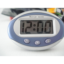 Relógio Digital Multiuso Mesa Carro Escritório Quarto