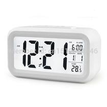 Relógio Despertador Digital Mesa Iluminação Noturna