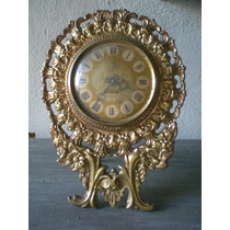 Relógio De Mesa Bronze