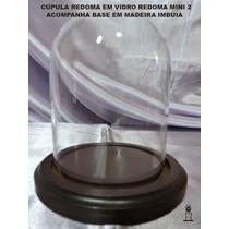 Cupula Redoma De Vidro, Nova Decoração Festas Mini 2 + Base