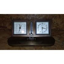 Relógio De Mesa Antigo
