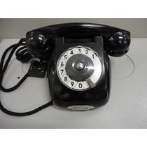 Telefone Antigo Rwt Preto Todo Original