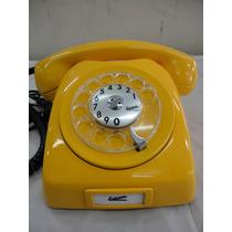 Telefone Dlg Ericsson Amarelo Anos 70 Original
