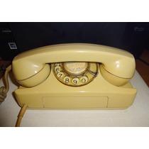 Telefone Gte Tijolinho Starlite Bege Anos 70
