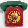 Telefone Vintage De Disco Original - Anos 70