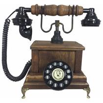 Telefone Antigo Vintage Retro Marquês Imbuía