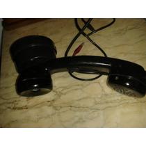 (only Wood) Telefone Antigo Discador No Fone Em Baquelite
