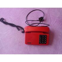 Antigo Telefone Vermelho Gradiente.