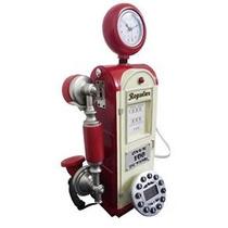 Telefone Com Fio Vintage Retro Estilo Bomba De Gasolina E Ga